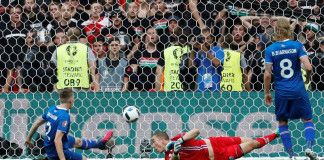 Iceland denied historic win by late own goal