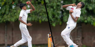 Left-arm spinners, Harin and Malshan rattles Mahinda college