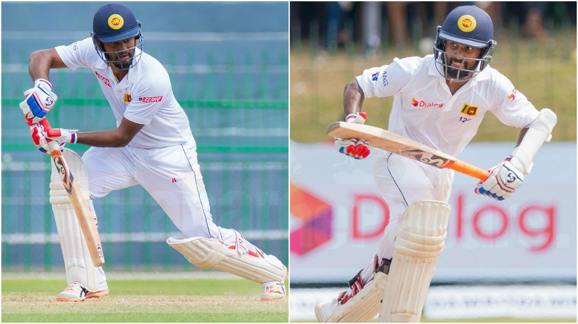 Dimuth and Kaushal put up solid opening stand