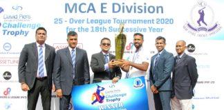 MCA 'E' Division Final