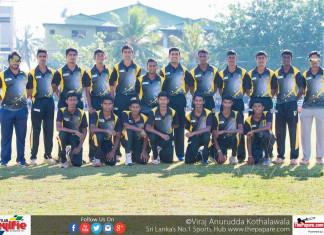 Mahanama College Cricket Team 2017