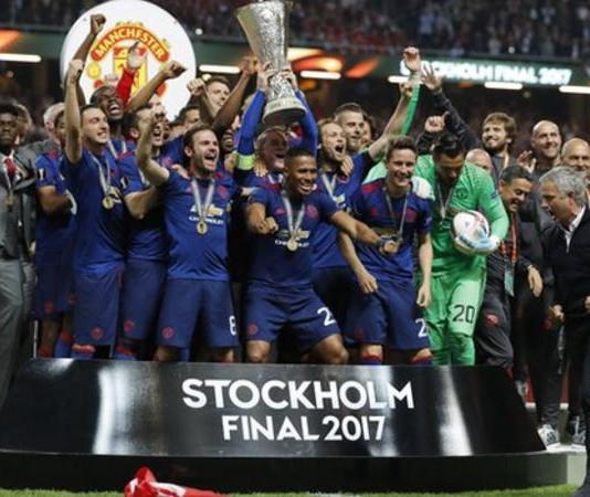 Manchester United Champions 2017