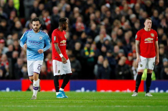 Manchester United v Manchester City 2020