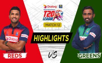 Highlights - Greens vs Reds - Match 12