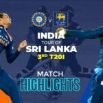 3rd T2oI – Match Highlights