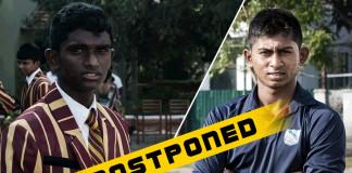 Under 19 Final Postponed