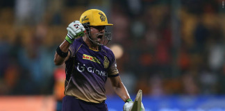 KKR send defending champions SRH packing in rain-affected match