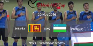 Highlights - 5th AHF Cup Sri Lanka vs Uzbekistan
