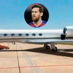 Messi's Private Jet Makes an Emergency Landing
