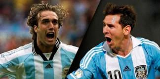 Lionel Messi equals Gabriel Batistuta's Argentina
