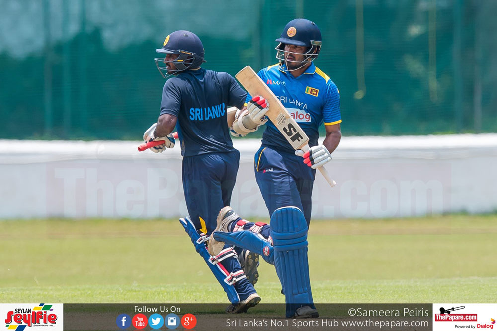 Milinda Siriwardena and Kusal Perera
