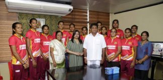 Sajith sponsors air tickets Sri Lanka Netball tour Botswana