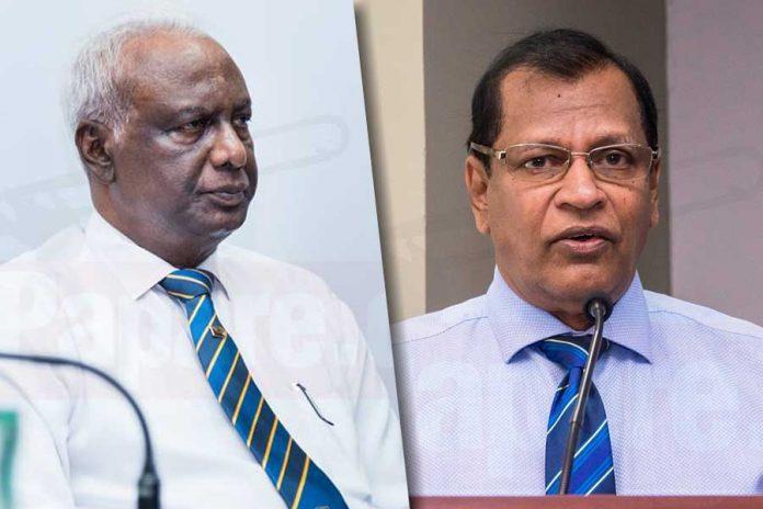 Mohan De Silva replaces Jayantha Dharmadasa