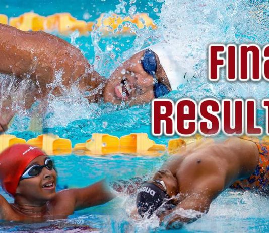 National Age Group Swimming results