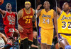 Most popular NBA players of all time