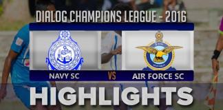 Highlights - Navy SC v Air Force SC