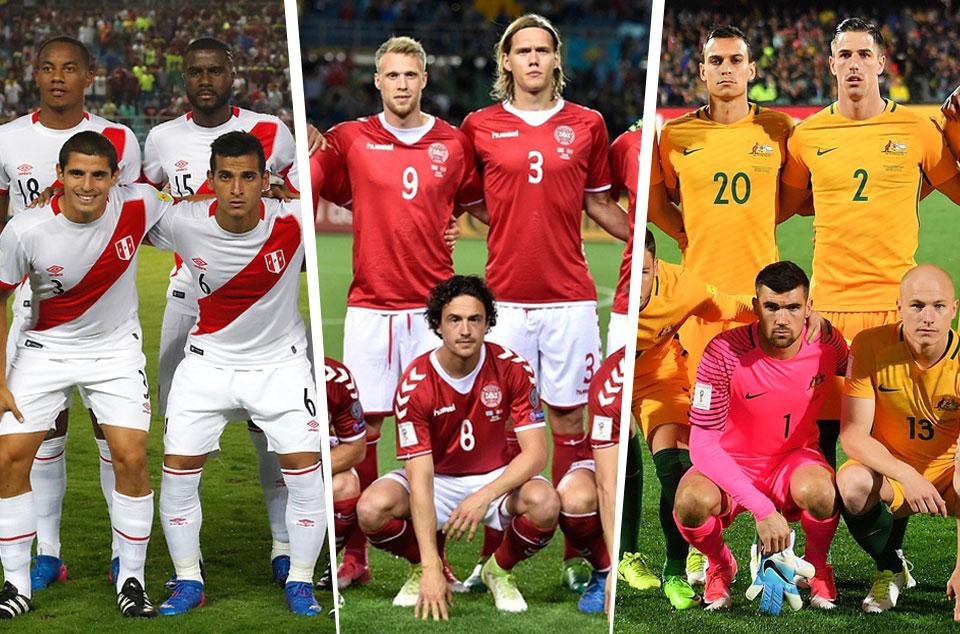 17325c89b51 World Cup 2018: Preview - Peru, Denmark and Australia