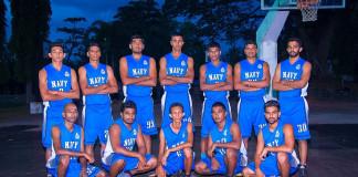 Navy SC Men's Basketball Team 2017