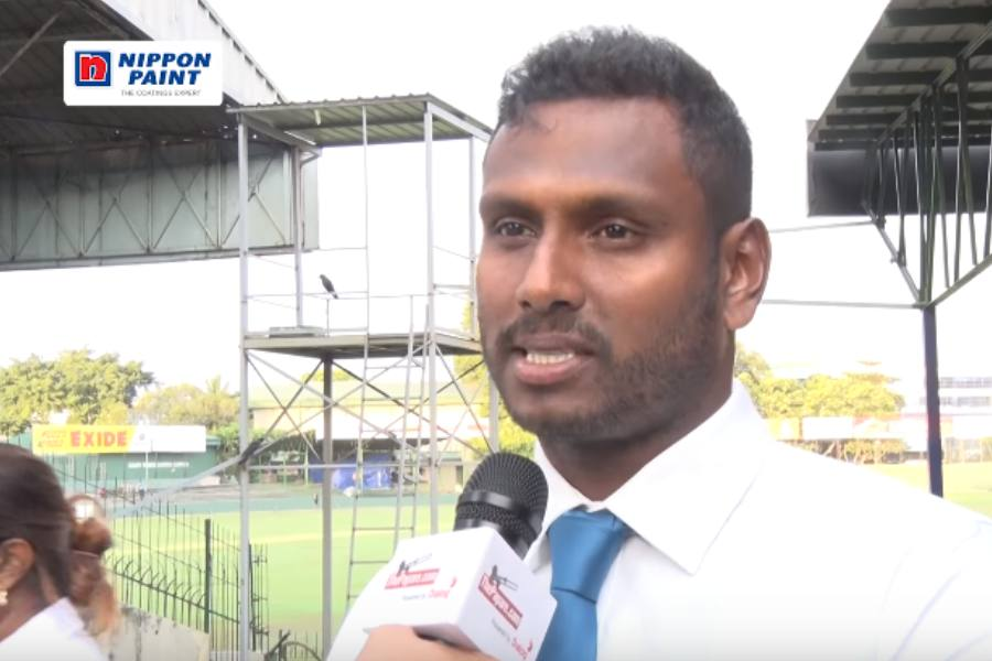 Captain Angelo Mathews