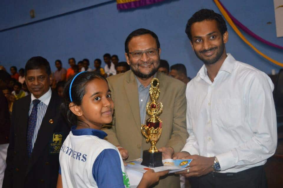 Niluka Karunaratne - at Under 13 Awards