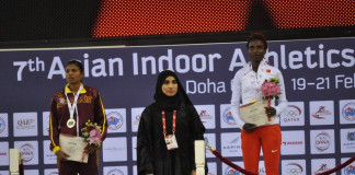 Nimali wins Silver in a thrilling race at Asian Indoor Championship