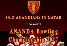 ANANDA Bowling Championship 2017