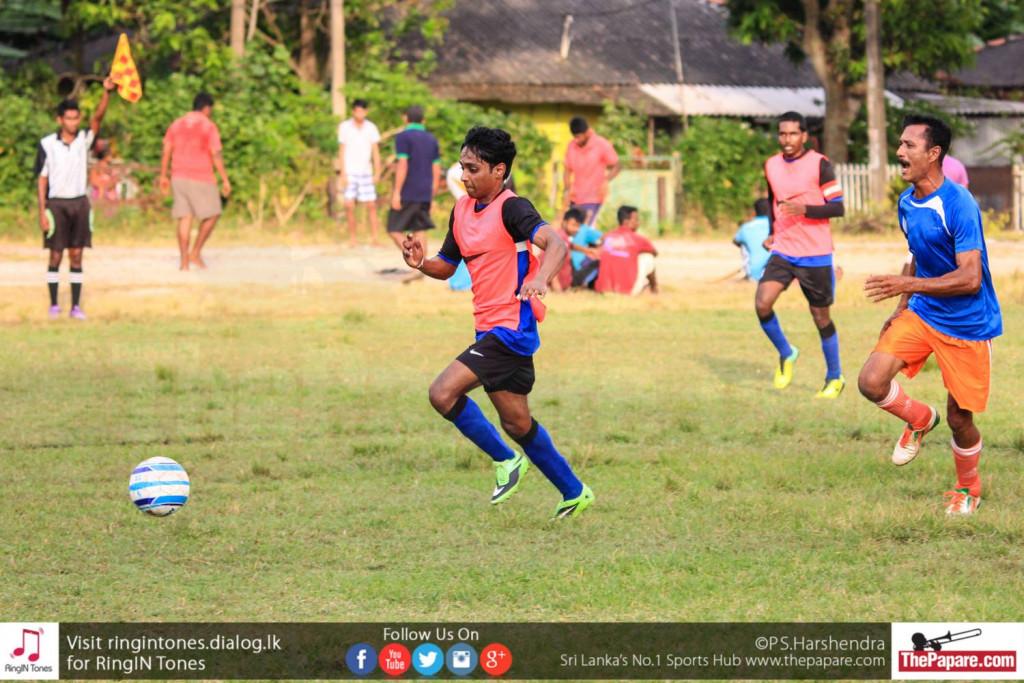 OTFC's Banuka Silva breaks through on goal against PTFC