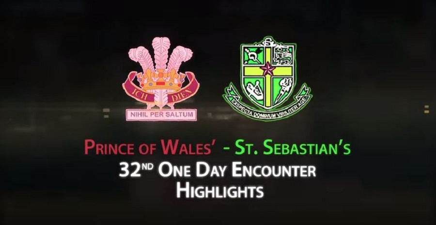 Highlights 32nd One Day Encounter Prince Of Wales College Vs St