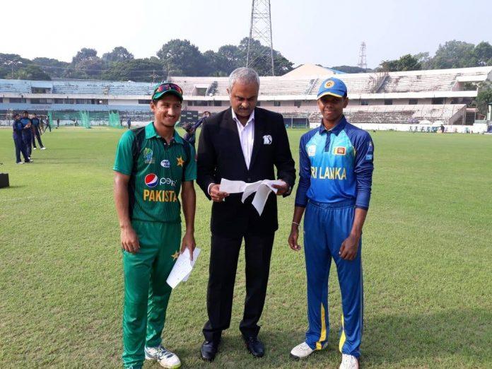 Pakistan U19 tour of Sri Lanka