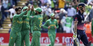 Pakistan vs England - ICC Champions Trophy 2017