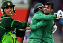 Pakistan ODI & Tests Squad