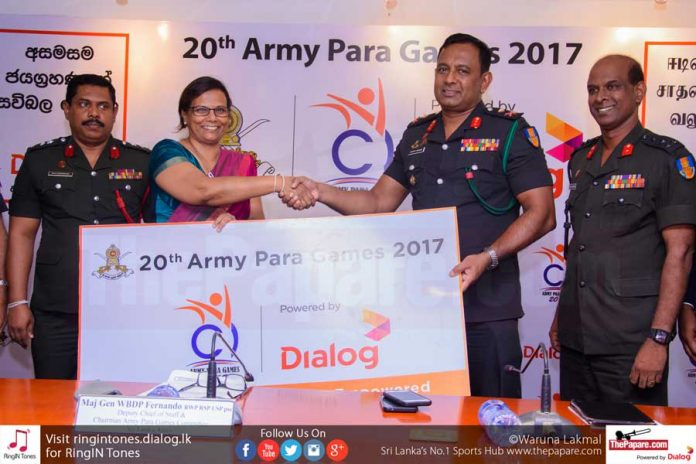20th Army Para Athletic Meet