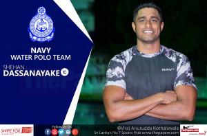 Photo - Shehan Dassanayake - Navy Water polo Captain