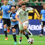 Mexico down Uruguay after anthem blunder