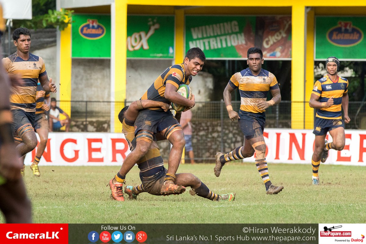 Photos – Royal College v St.Peters College – Schools Rugby 2016