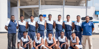 Police Basketball Team 2017