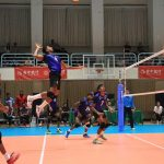 Sri Lanka Ports Authority qualified for the final 8 round after finishing 2nd in Pool B of the 2019 Asian Men's Club Volleyball Championship