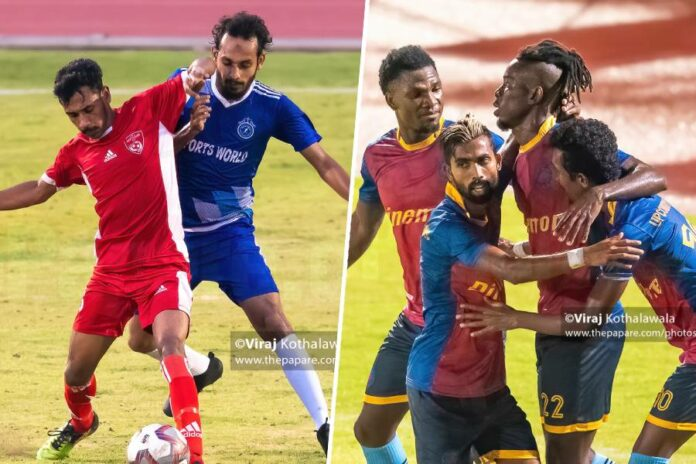 Renown SC vs Red Stars FC & Up Country Lions FC vs Blue Eagles FC
