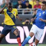 Controversial call helps Brazil escape with a Copa America draw vs. Ecuador