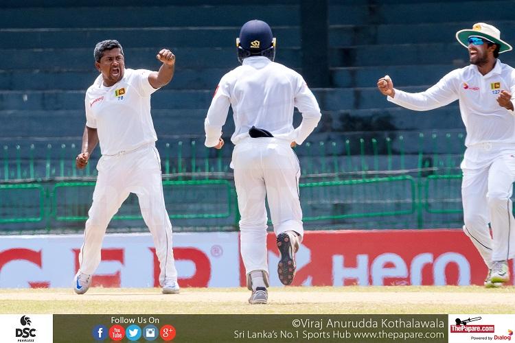 Herath strikes put Sri Lanka firmly on top