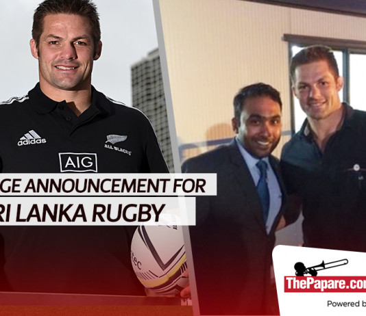 All black legend Richie McCaw to coach Sri Lanka