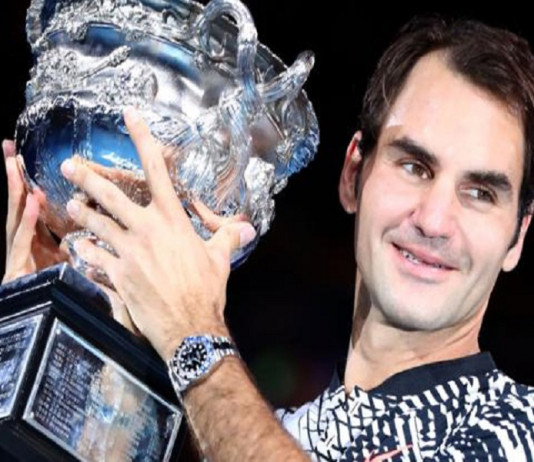 Roger Federer wins 18th Grand Slam Title
