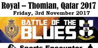 Battle of the Blues in Qatar