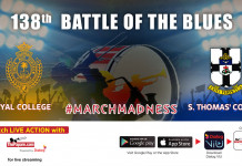 138th Battle of the Blues | Royal College v S. Thomas' College