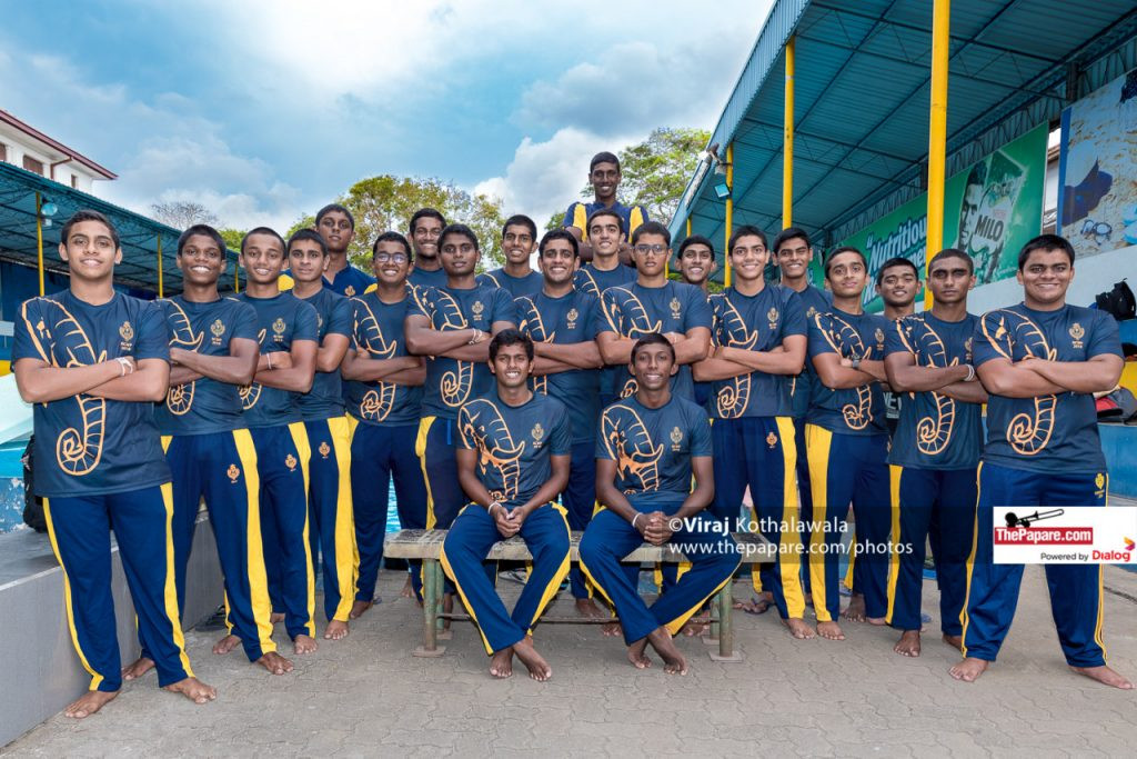 Royal College Water Polo Team 2018
