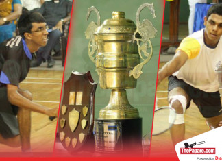 Royal-Thomian shuttlers lock