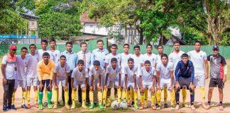 Royal College Football team 2018