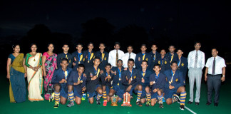 Royal College v S. Thomas' College 16th Annual Hockey Encounter 2015 for Orville Abeynaike Trophy