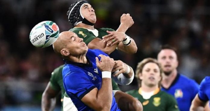 Rugby World Cup 2019 - South Africa v Italy