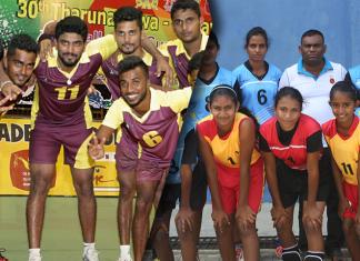 Rupavahini Volleyball tournament Novices finals